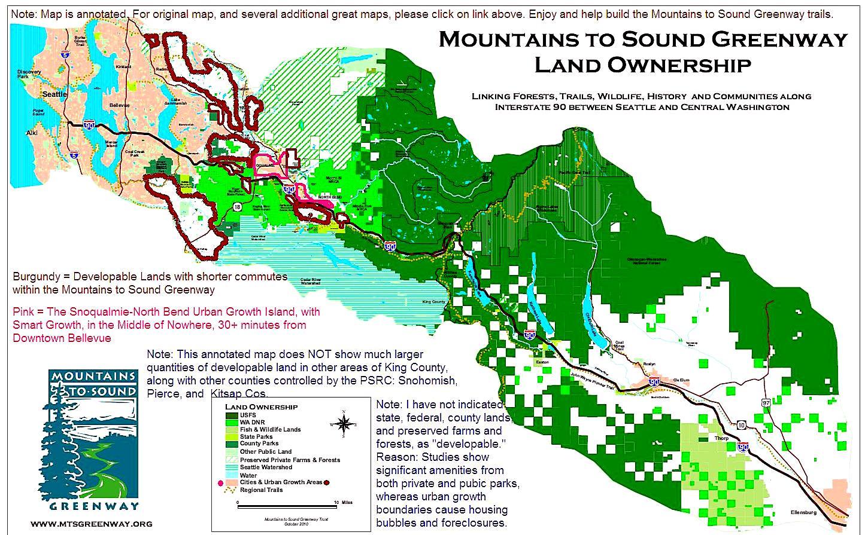Jan 3 2011 Seattle Smart Growth Mountains To Sound
