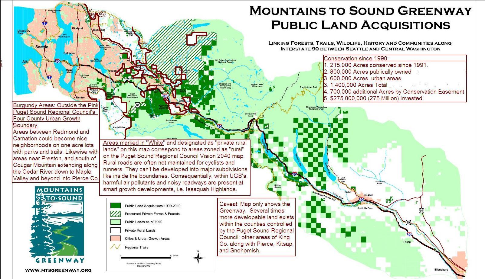 Jan 17 2011 Seattle Smart Growth Mountains To Sound