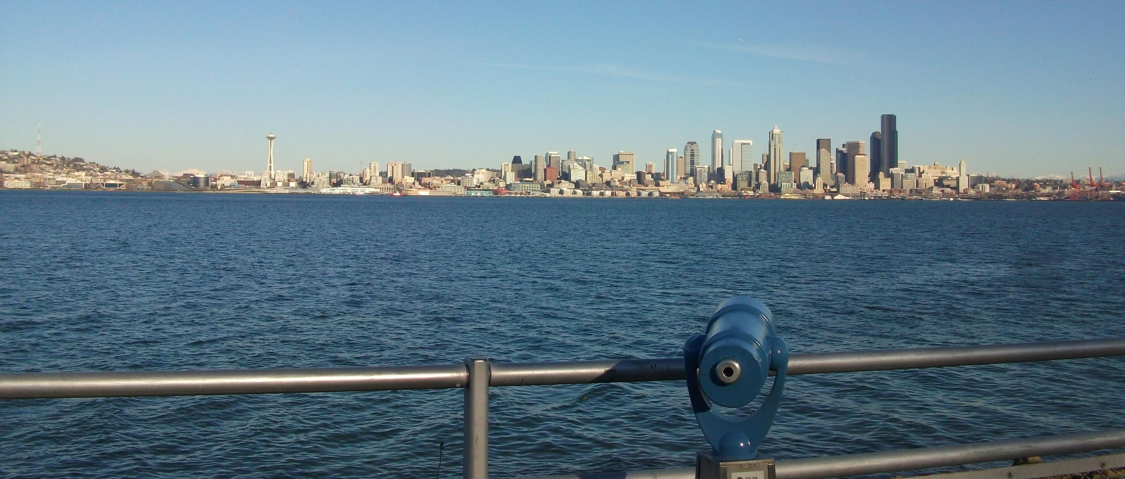 Seattle Skyline Looking East