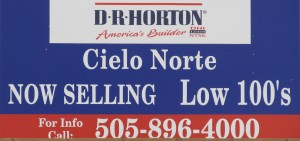 Inexpensive new homes in Rio Rancho, due to plenty of developable land, and the lack of an urban growth boundary.