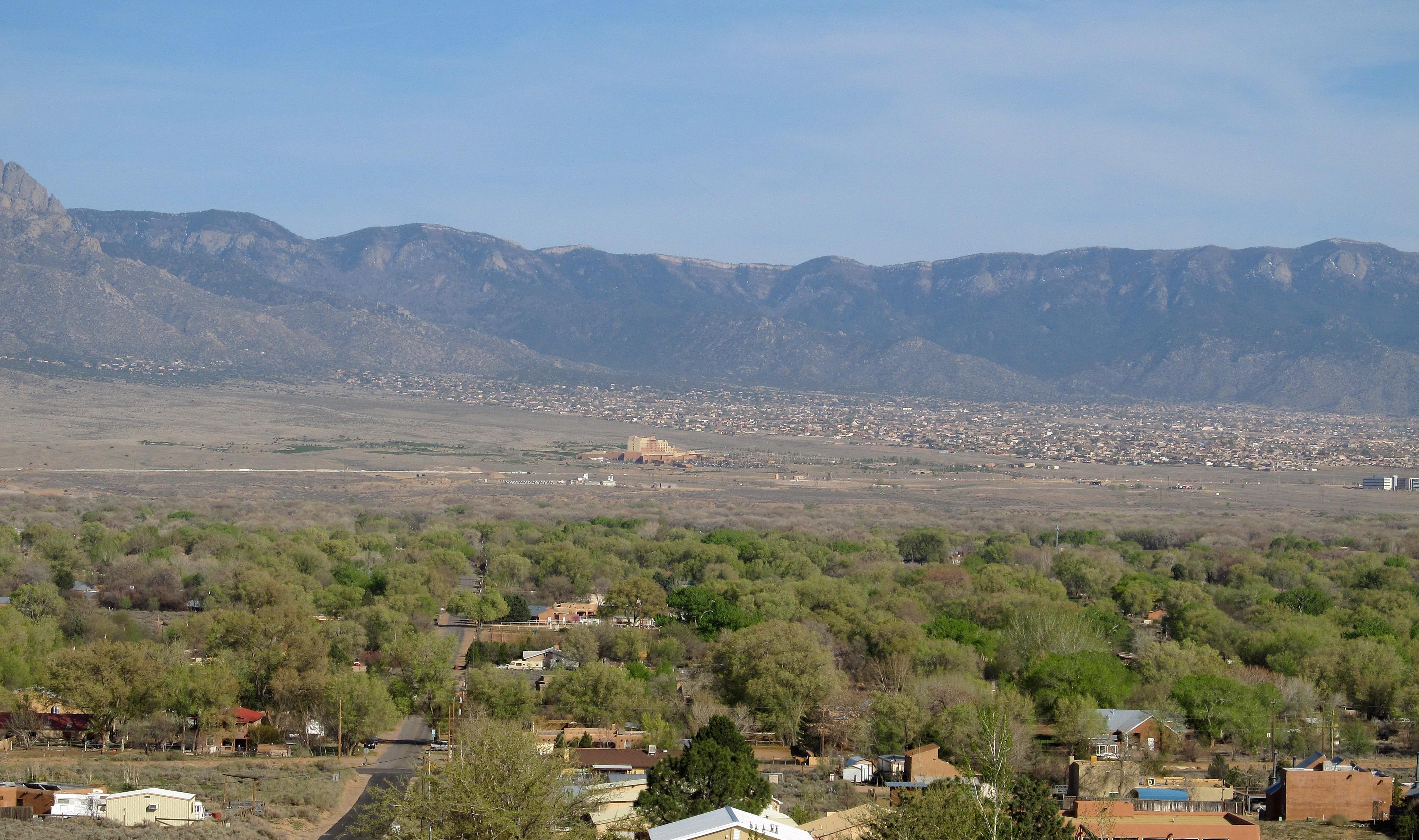 Urban plan Albuquerque Rio Rancho New Mexico