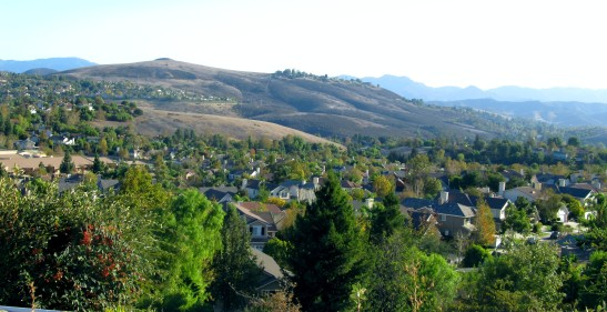Among the rolling hills of low density Thousand Oaks, California. The prototypical master planned suburb for soccer moms.
